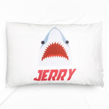 Shark Personalized Name Pillowcase