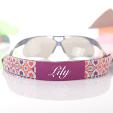 Greek Pattern Personalized Sunglass Strap