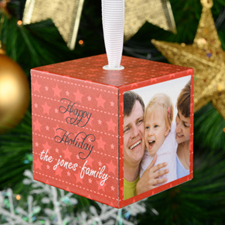 Christmas Star Personalized Wood Photo 2