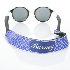 Purple Interlocking Circle Monogrammed Sunglass Strap