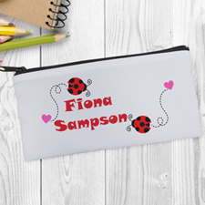 Ladybird Personalized Pencil Bag