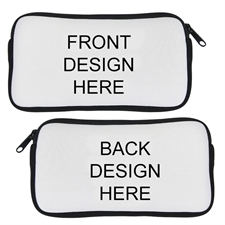 Custom Design Neoprene Pencil Case (Custom front & back)