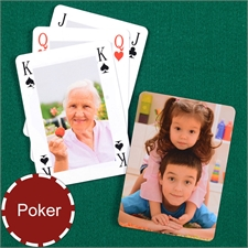 Custom Poker Size Bridge Style Playing Cards