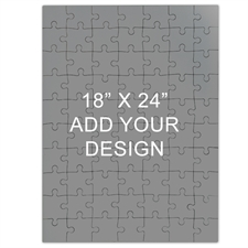 18 x 24 Huge Wooden Jigsaw Puzzle (Portrait, 70 or 500 pieces)