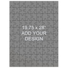 19.75 x 28 Large Wooden Jigsaw Puzzle (Portrait, 208 pieces)
