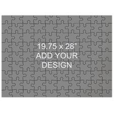19.75 x 28 Large Wooden Jigsaw Puzzle (Landscape, 247 pieces)
