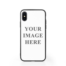 Custom Design Phone Case for iPhone X with Black Liner