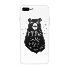 Personalized Graphic Apple iPhone 7 Plus / 8 Plus Case with Clear Liner