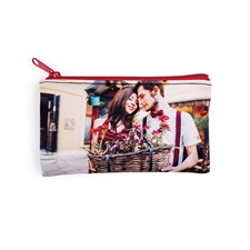Personalized Photo 4x7 Neoprene Make Up Bag (Same Image)