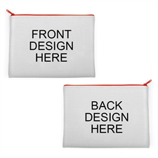 Customizable Design 9.5x13 Neoprene Cosmetic Bag (Different Images)