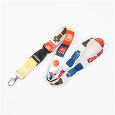 Personalized Full Color Print 20mm Lanyard with Buckle