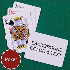 My Own Poker Standard Index Landscape Playing Cards