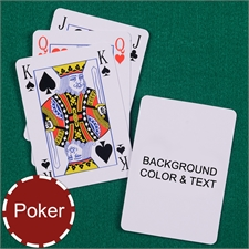 My Own Poker Size Bridge Style Playing Cards