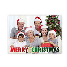 Create Your Own Christmas Photo Cards, Merry Christmas Fun Invitations
