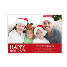 Create Your Own Seasonal Photo Cards, Merry Christmas Joy Invitations