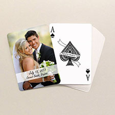 Cool Wedding Poker Size Standard index