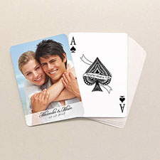 Classic Wedding Poker Size Standard Index