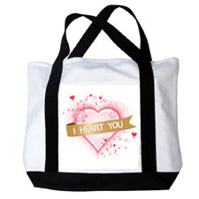 Personalized Design Your Own Canvas Tote Bag