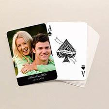 Love Poker Size Classic Black Standard Index