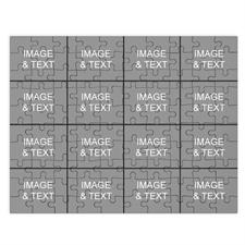 Personalized Instagram Black 16 Collage 12X16.5 Photo Puzzle
