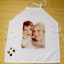 Portrait Photo Personalized Adult Apron