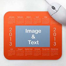 Custom Calendar, Orange