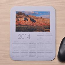 White Calendar w/Photo