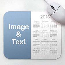 White Photo Calendar