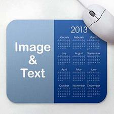 Blue Photo Calendar