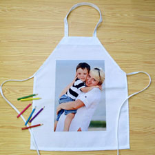 Portrait Photo Personalized Kids Apron