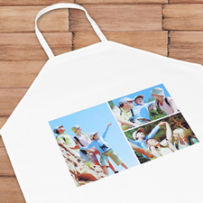 Three Collage Personalized Adult Apron