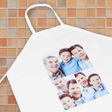 Classic Three Collage Personalized Adult Apron