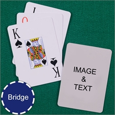 Bridge Size Playing Cards Jumbo Index