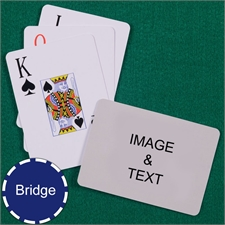 Bridge Size Playing Cards Jumbo Index Landscape