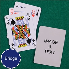 Bridge Size Playing Cards Bridge Style