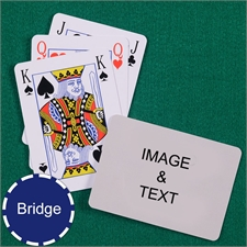 Bridge Size Playing Cards Bridge Style Landscape
