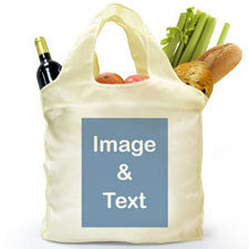 Folded Shopper Bag, Portrait Image