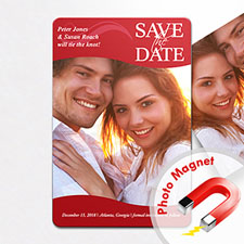 4x6 Large You Should Come Save The Date Magnet