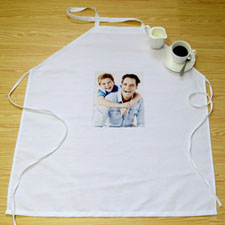 Small Portrait Photo Personalized Adult Apron