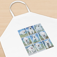 Nine Collage Personalized Adult Apron