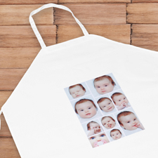 Ten Collage Personalized Adult Apron
