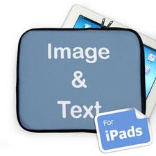 Custom iPad Sleeve, Landscape Image