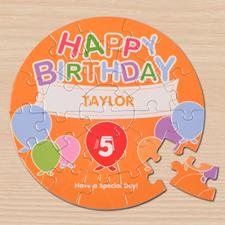 Birthday Balloons Round 7 1/4