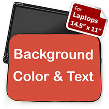Red Background Custom Text 15