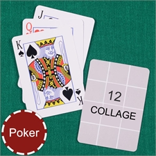 Poker Size Twelve Collage