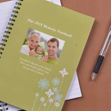 Create Your Own Spring Forest Photo Notebook