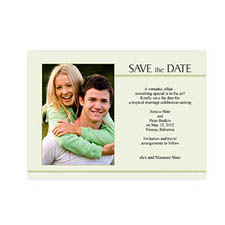 5x7 Feeling the Love Save the Date