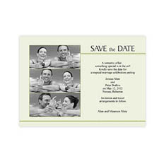 5x7 Three Collage Feeling the Love Save the Date