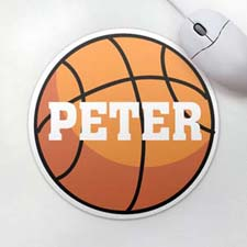 Personalized Basketball Mousepad