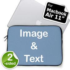 Custom 2-sided MacBook Air 11 Sleeve